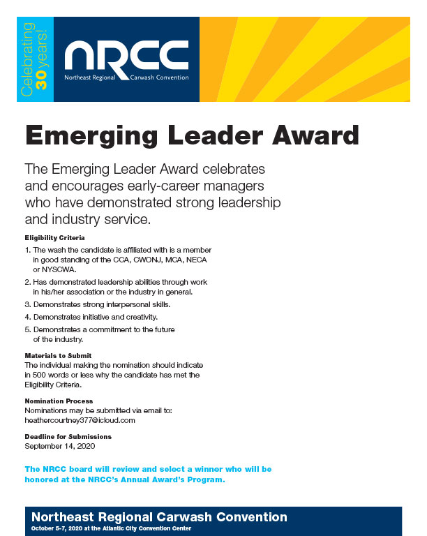 Emerging Leader Award